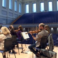 Orchestra of the Swan Podcast - Rehearsal at Birmingham Town Hall