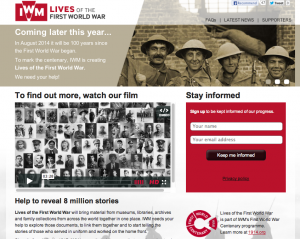 Lives of the First World War